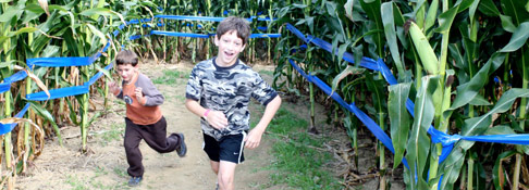 Giant Maize Quest® Corn Maze - Located between Grand Rapids, Michigan and South Bend, Indiana