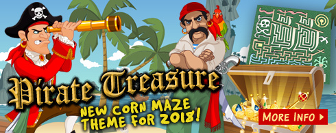 Pirate Treasure 2018 Corn Maze - Gobles, MI